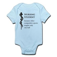 Nursing Student Because... Infant Bodysuit