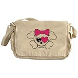 Cute Pirate Messenger Bag