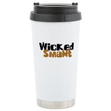 Wicked Smaht Ceramic Travel Mug