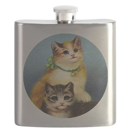 Cute Kittens Flask