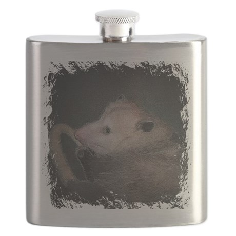 Sleepy Possum Flask