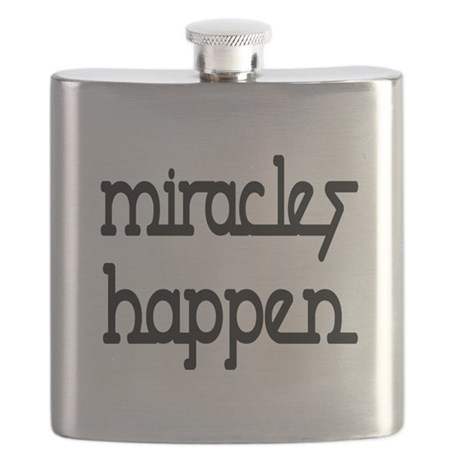Miracles Happen Flask