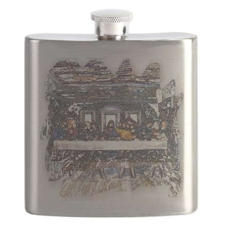 Last Supper Flask