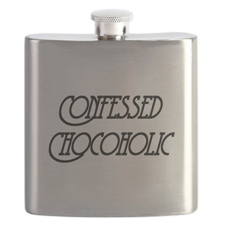 Confessed Chocoholic Flask