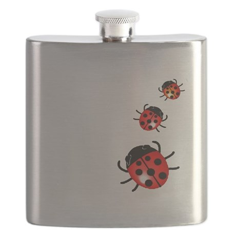 Ladybugs Flask