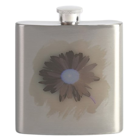 Country Daisy Flask