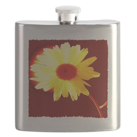 Hot Daisy Flask