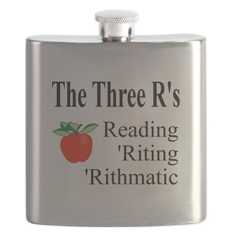 The Three Rs Flask
