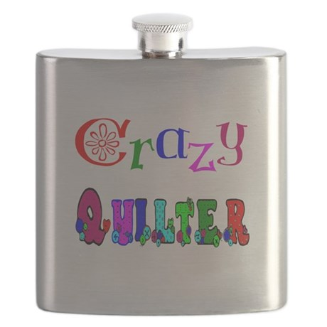 Crazy Quilter Flask