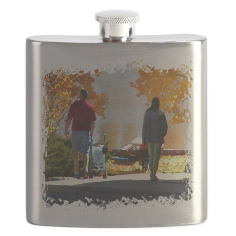 Autumn Stroll Flask