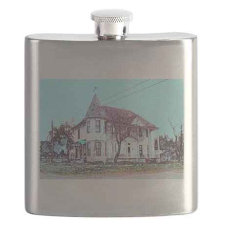 Old Corner House Flask