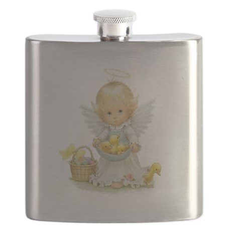 Easter Angel Flask