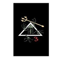 SEAL Team 3 Patch Postcards (Package of 8)