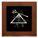 SEAL Team 3 Patch Framed Tile