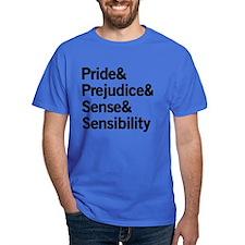 Austen Titles T-Shirt