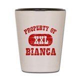 Property Of Bianca Shot Glass