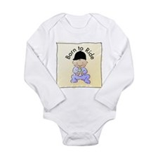Cute Horse for kids Long Sleeve Infant Bodysuit