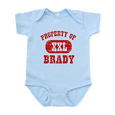 Property Of Brady Onesie