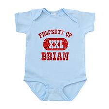 Property Of Brian Infant Bodysuit