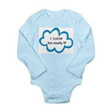 Cute Ip Long Sleeve Infant Bodysuit