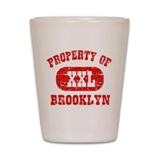 Property Of Brooklyn Shot Glass