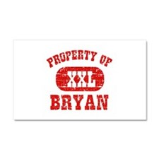 Property Of Bryan Car Magnet 20 x 12