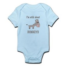 Wild About Donkeys Infant Bodysuit