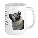 Elkhound Dad Mug