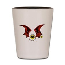 Flying Eyeball Shot Glass