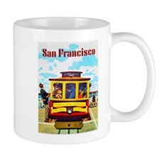 San Francisco Travel Poster 1 Mug