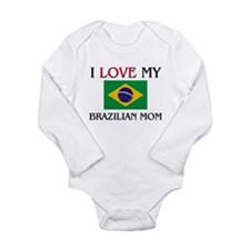 Cool Brazilian Long Sleeve Infant Bodysuit