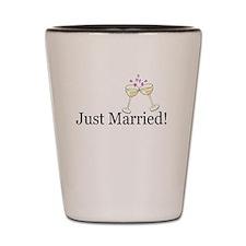 Cute Wedding toast Shot Glass