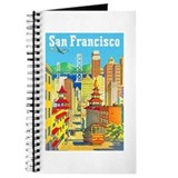 San Francisco Travel Poster 2 Journal