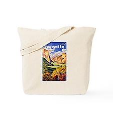 Yosemite Travel Poster 2 Tote Bag