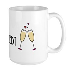 Just Married Champagne Toast Mug