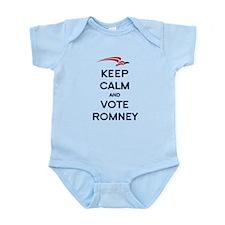 Keep Calm Vote Romney Infant Bodysuit