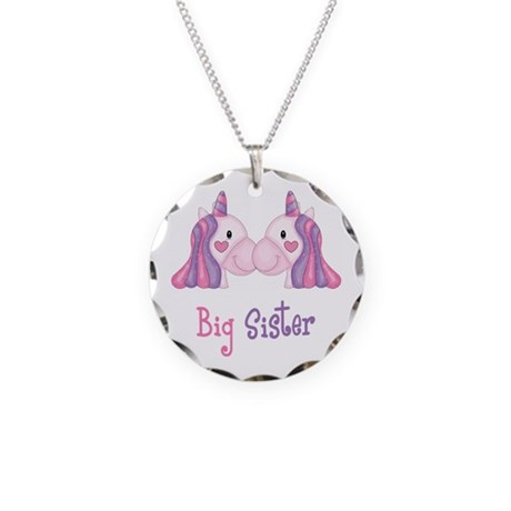 Big Sis Unicorns Necklace by 1512blvdbaby