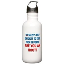 Socialist Idiots Water Bottle