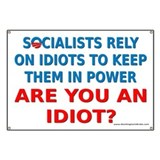 Socialist Idiots Banner