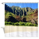 Kalalau Beach Shower Curtain