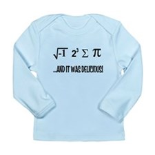 I Ate Some Pie Long Sleeve Infant T-Shirt
