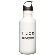 I Ate Some Pie Sports Water Bottle