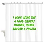 I Cook Merchandise Shower Curtain