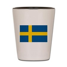 Flag of Sweden Shot Glass