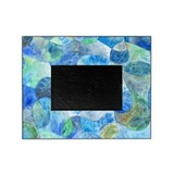 Aquatic Watercolor Picture Frame