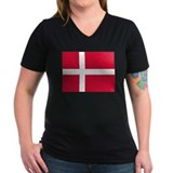 Denmark Danish Flag Shirt