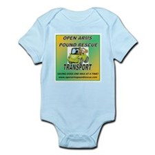 OPEN ARMS POUND RESCUE TRANSPORT Infant Bodysuit