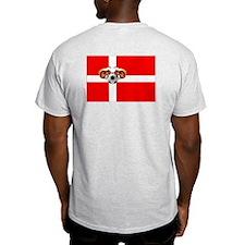 Danish Football Flag T-Shirt