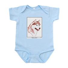 Blue Eye Husky Edition Infant Creeper