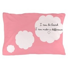 Funny I pink i can Pillow Case